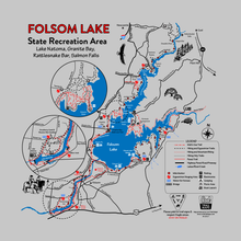 Load image into Gallery viewer, Folsom State Recreation Area