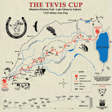 Load image into Gallery viewer, Tevis Cup - Western States Trail