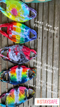 Load image into Gallery viewer, Adult Tie Dye Masks