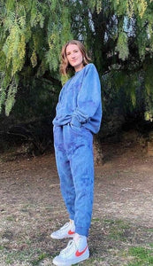 TRUE BLUE sweatsuit