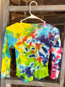 Long Sleeve Thermal Neon T