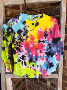 Long Sleeve Thermal Neon & Black T