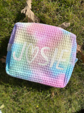 Load image into Gallery viewer, Tie Dye Waffle Pouch