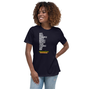 """Choose your weapon"" Short-Sleeve Women's T-Shirt"