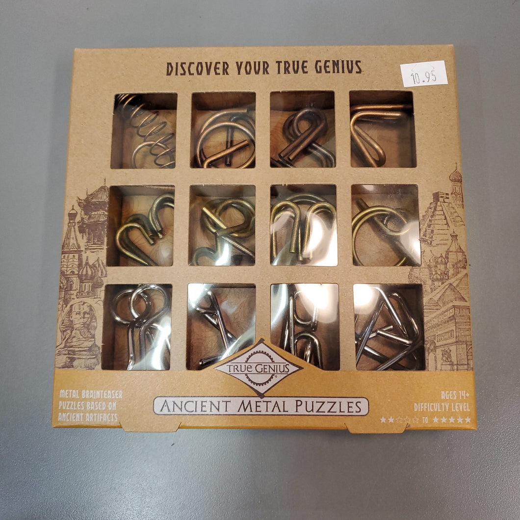 Ancient Metal Puzzles