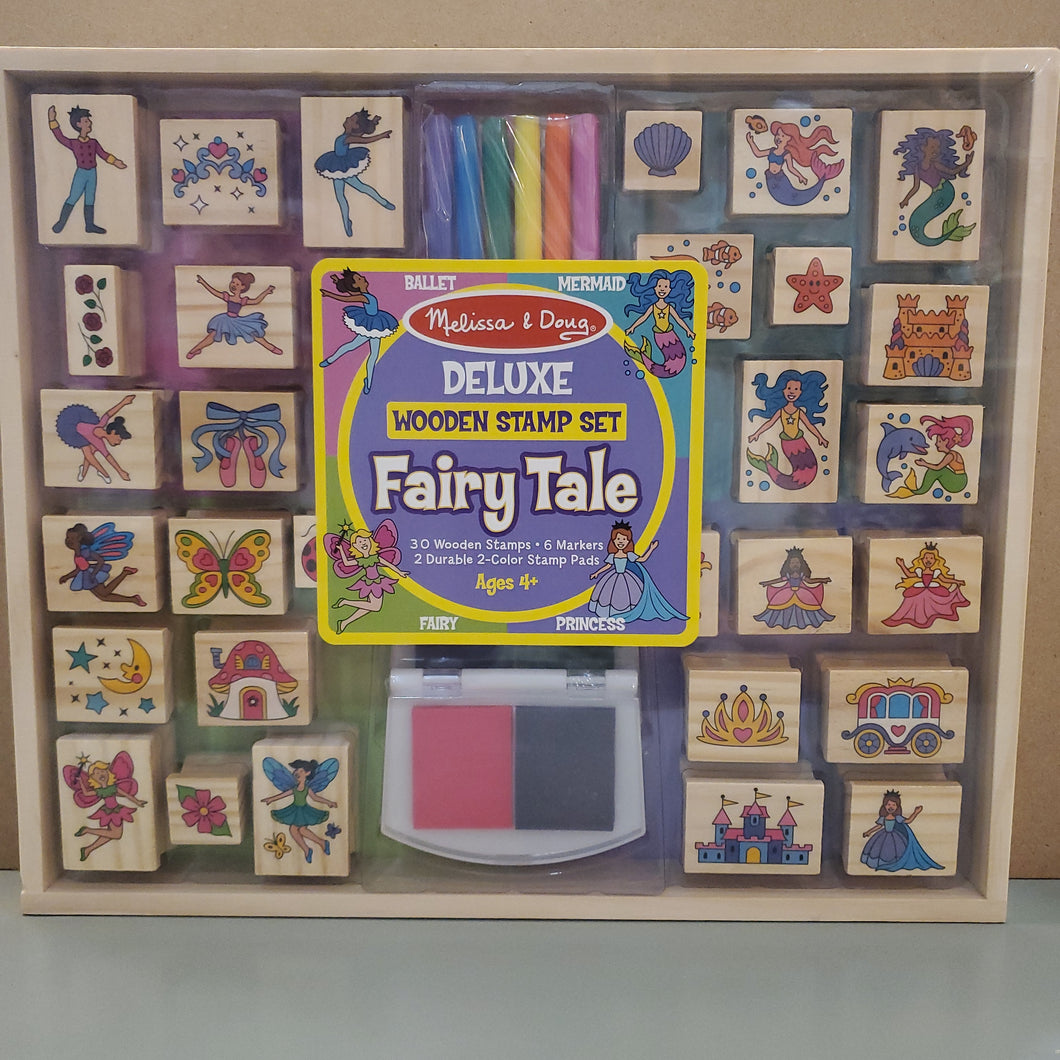 Deluxe Wooden Stamp Set: Fairy Tale