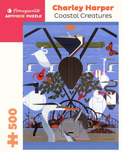 Coastal Creatures 500pc