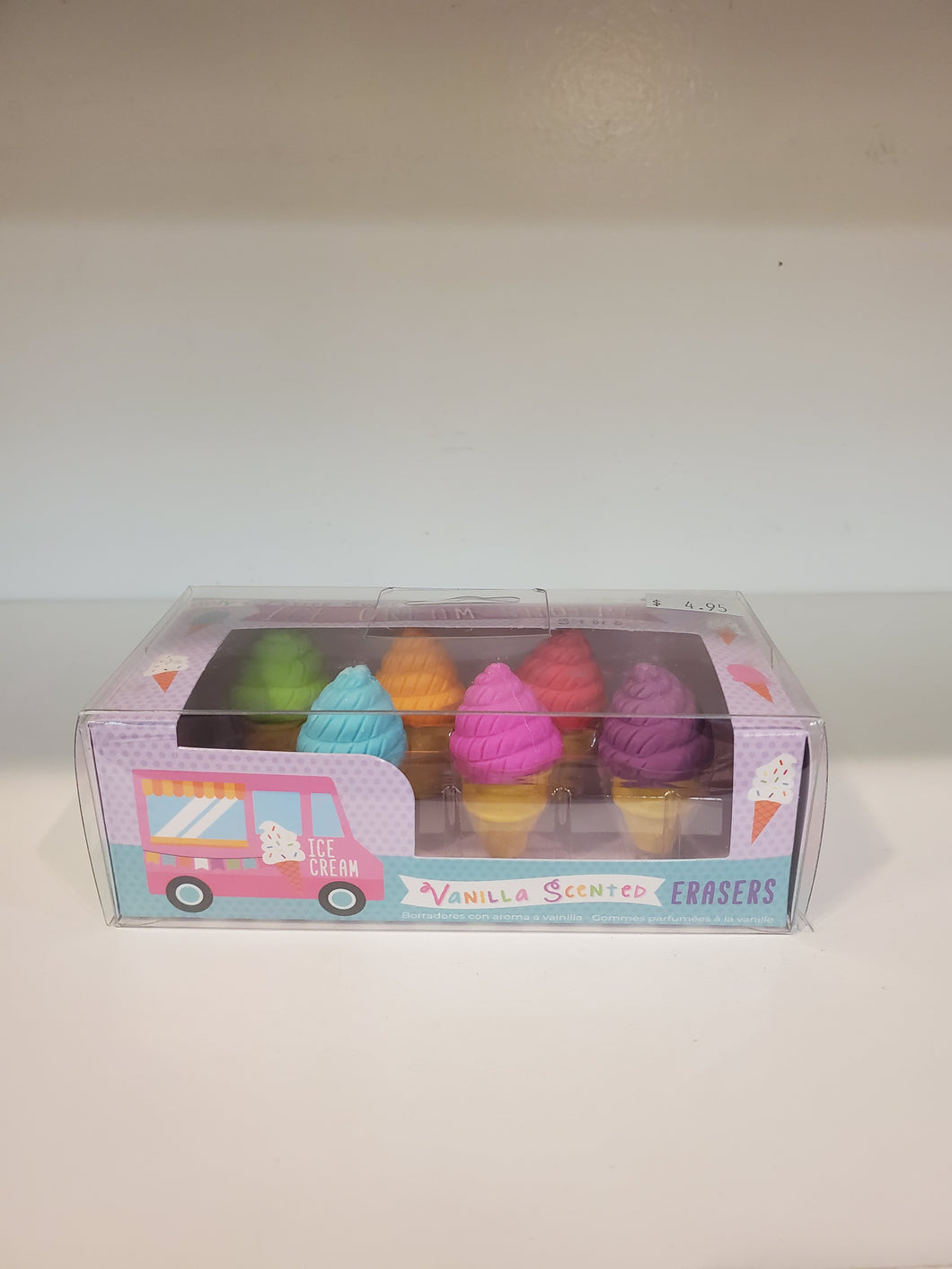 Ice Cream Shoppe Erasers
