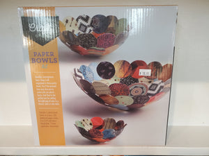 Craft Crush Paper Bowl kit.