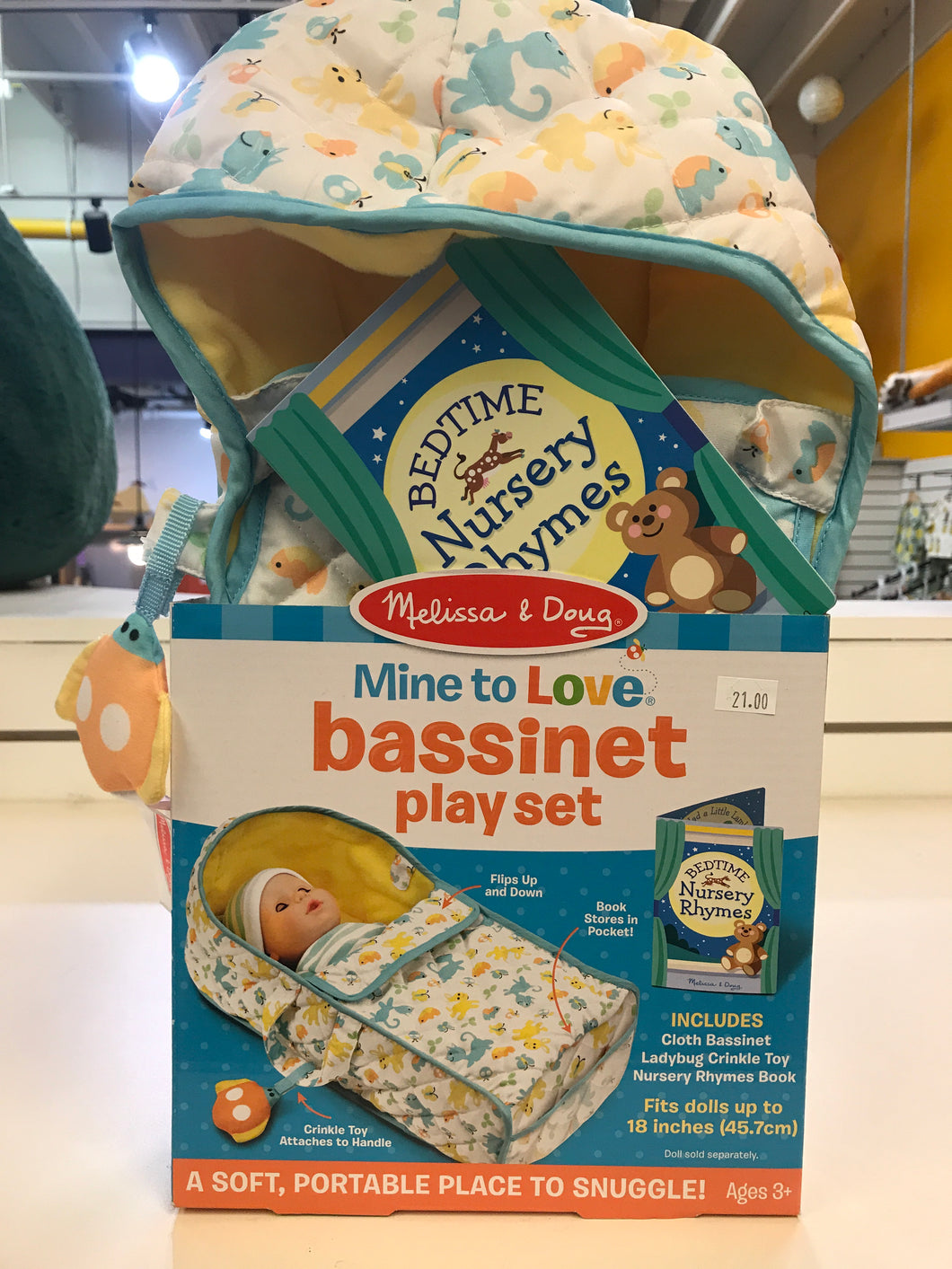 Melissa & Doug - Mine to Love Bassinet Playset