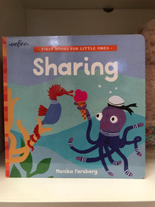 First Books For Little Ones SHARING - Monika Forsberg (eeBoo)