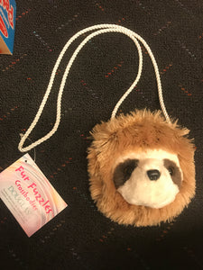 Fur Fuzzles - Sloth Face Crossbody