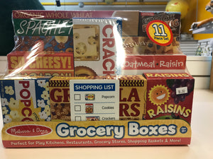 Melissa & Doug - Grocery Boxes