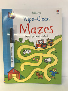 Wipe Clean Mazes