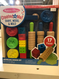 Melissa & Doug - Shape, Model & Mold Modeling Dough Kit