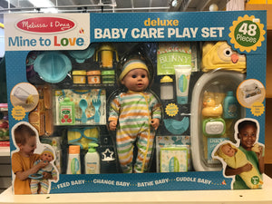Melissa & Doug - Mine to Love Deluxe Baby Care Playset