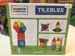 Magformers - Tileblox 14 pc set