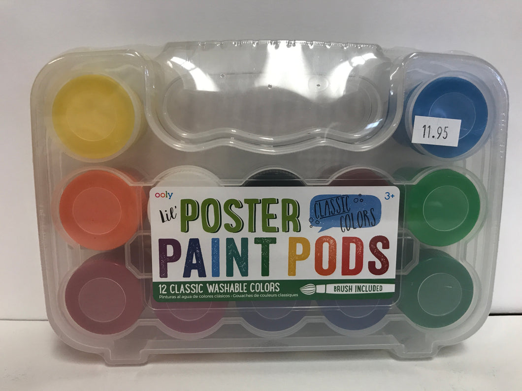 Lil' Poster Paint Pods