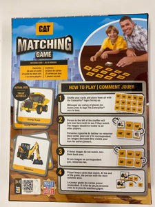 CAT Construction Matching Game