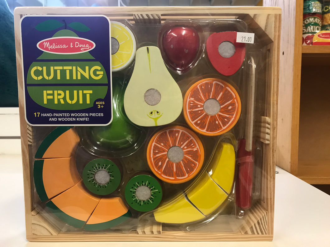 Melissa & Doug - Wooden Cutting Fruit