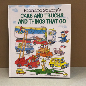 Richard Scarry Book - Things that Go