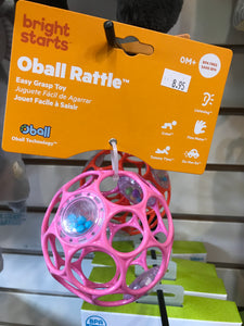 Bright Starts - Oball Rattle (assorted color)