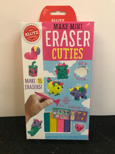 Klutz Make Mini Erasers - Cuties
