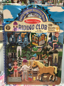 Melissa & Doug - Riding Club Puffy Sticker Activity Book