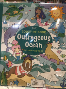 ooly - Outrageous Ocean Color-in' Book
