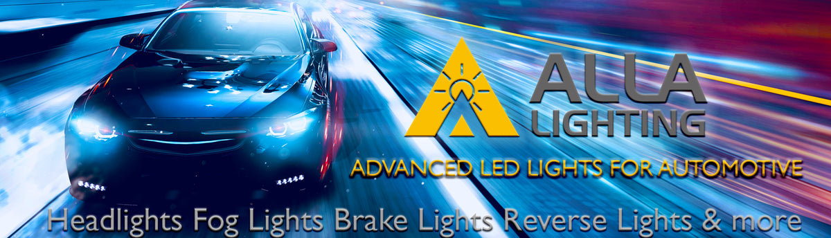 Alla Lighting LED Headlights Fog Lights Back Up Reverse Stop Lights Bulbs