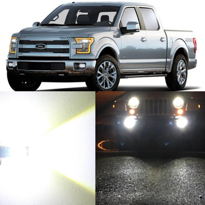 2004-2021 Ford F-150 Fog Lights Bulbs H10 9145 9140 LED Upgrade