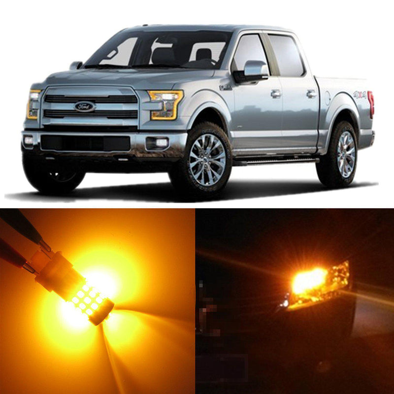 2015-2021 Ford F-150 Turn Signal Lights Bulb Replacement, Front