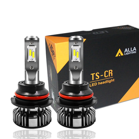 TS-CR HB1 9004 LED Kits Bulbs for Cars, Trucks, 6000K Xenon White