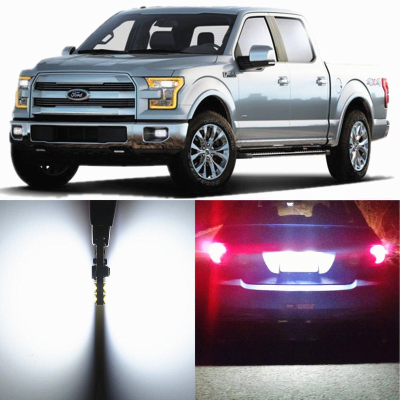 Ford F-150 License Plate Lights 194 168 LED Tag Lights Bulbs Replacement