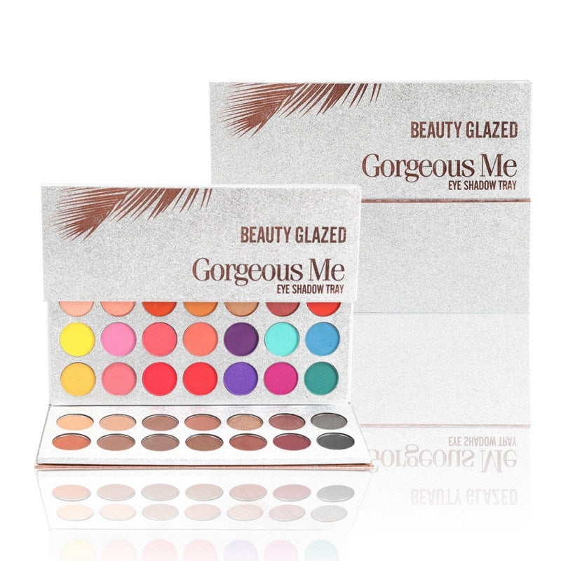 63 colors  non blooming long eye shadow eyeshadow palettte glitter makeup matte eye shadow make up palette