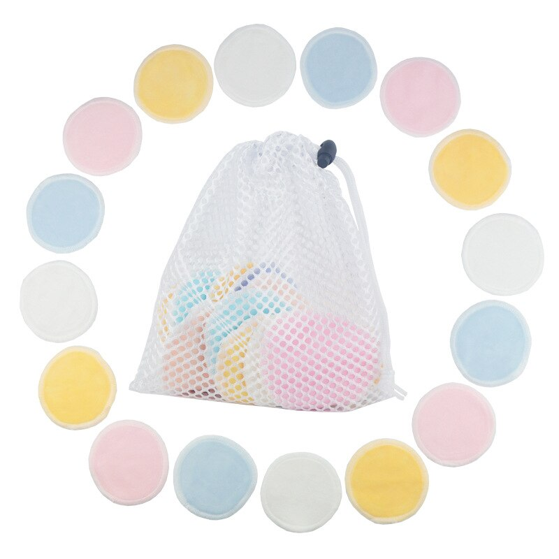 1/3PCS Reusable Makeup Remover Pads Cotton Make up Facial Removal Double layer Wipe Pad Nail Art Makeup Cleansing Cosmetic Tools