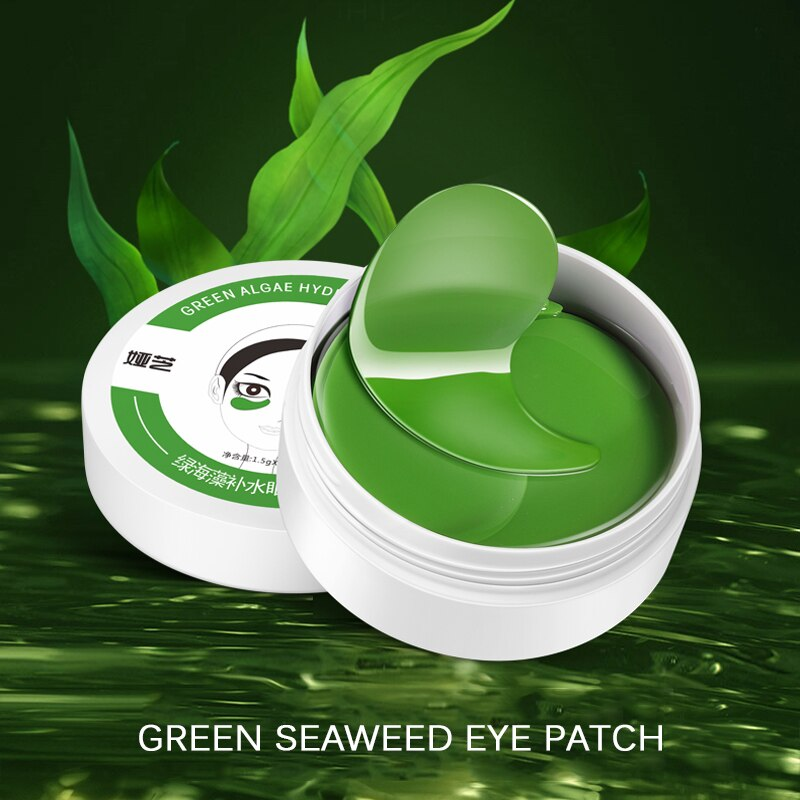 Green Algae Eye Mask Nourishing Moisturizing Seaweed Eye Patches Anti puffiness Wrinkle Dark Circles Eye Skin Care Masks