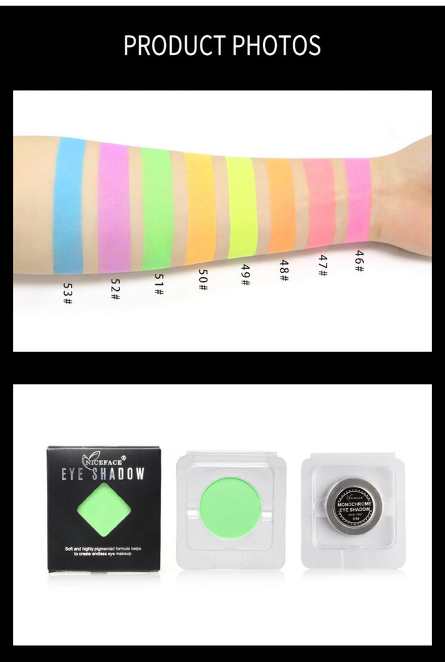 8 Colors Lasting Pearlescent Symphony Monochrome Eyeshadow Pallete Waterproof Shimmer Eyeshadow Eyes Makeup Cosmetics