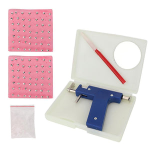 Professional Body Piercing Tool Kit Ear Nose Body Navel Piercing Gun With Ears Studs Tool  with 98 PCS Ear Studs Jewelry Tool