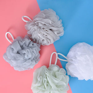 Polyester Cotton Lanyard For Easy Drying Big Bath Flower Large Bath Ball Plain Bath Ball Bath Flower Net Red Bath Ball