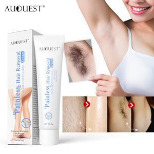 Thick painless hair removal cream gently quickly mild removes armpit arm leg hair Shrink Pores Skin Smooth Repair Essence