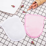 Reusable Facial Cloth Face Towel Women Makeup Remover Cleansing Glove Beauty Cosmetic Puff Make Up Microfiber Face Care Towelss