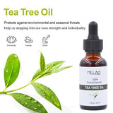Pure Tea Tree Essential Oil For Acne Treatment Anti Wrinkle Grease Hydrating Oil control Contractive Pore Facial beauty Oil