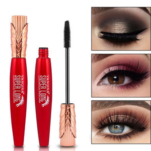 4D Charm Ink Mascara Cosmetics Volume Waterproof Eye Lash Extensions Makeup Silk Graft Growth Fluid Eye