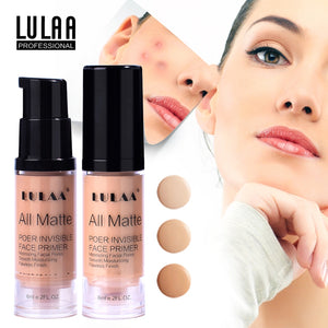 LULAA Full Cover 3 Colors Concealer Liquid Makeup Eye Dark Circles Cream Face Corrector Waterproof Make Up Cosmetic
