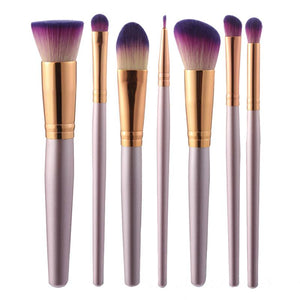 9Pcs Hot Sale Makeup Brush Set For Foundation Powder Blush Eye shadow Concealer Lip Eye Make Up Brush Cosmetics Beauty Tools