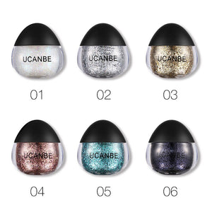 7 Colors Diamond Art Flash Loose Sequins Eyeshadow Nail Hair Body Face Glitter Gel