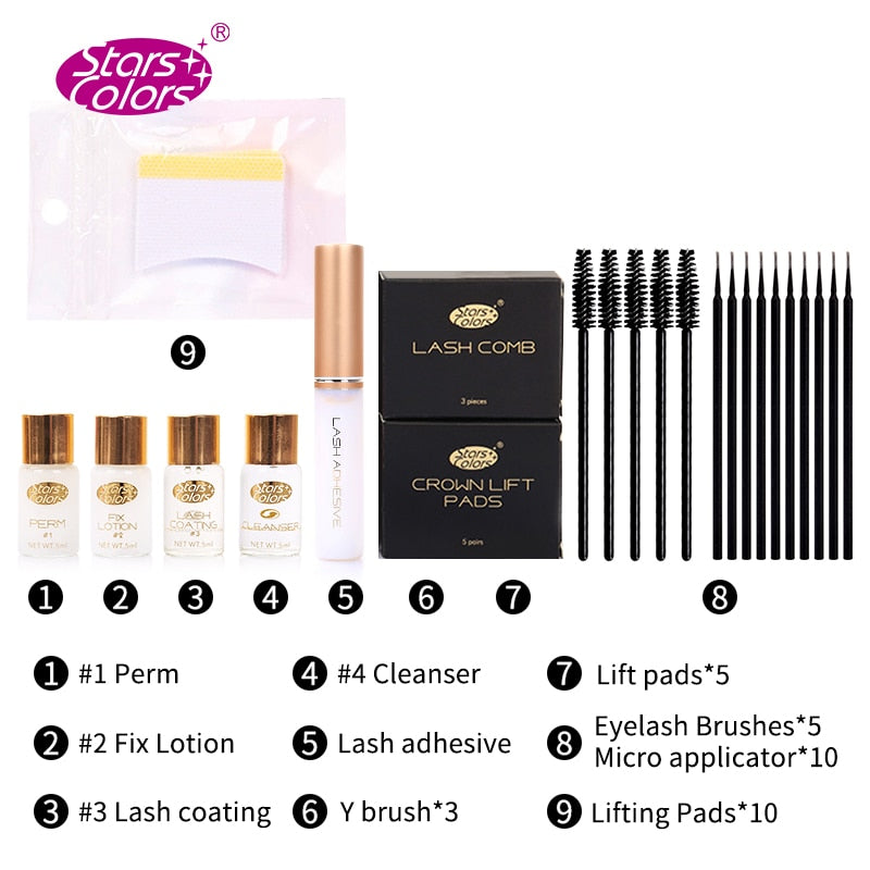Fast Perm Mini Eye lash Set lashes lift Cilia Lifting Extension Perming Curling Nutritious Growth Treatments
