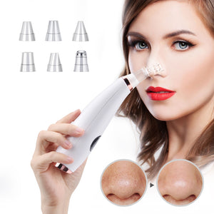 Facial Cleaner Nose Blackhead Remover Deep Pore Acne Pimple Removal Vacuum Suction Diamond T Zone Beauty Tool