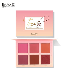 IMAGIC 6 Colors blush palette Long lasting